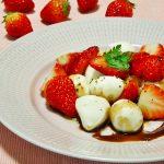 感謝♪クックパッドさんよりイチゴとモッツァレラのサラダを動画にして頂きました!My recipe video.