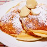 Double merengue gulten free cream cheese pancake
