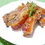 Spareribs with honey and rosemary・ローズマリーと蜂蜜のスペアリブ